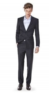 Suit anthracite